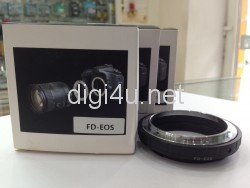 Mount Canon FD to EOS lens adapters