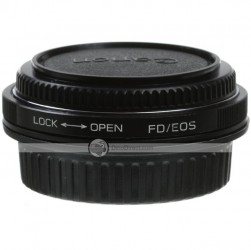 Confirm FD Lens to Canon EOS EF Mount Adapter Ring with Glass
