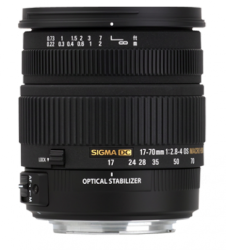 Sigma 17-70mm F2.8-4 DC Macro OS HSM ( for Canon / Nikon)