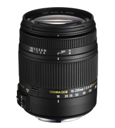 Sigma 18-250mm f3.5-6.3 DC Macro OS HSM (For Canon)