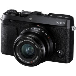 Fujifilm X-E3 kit 23mm f/2R WR Black