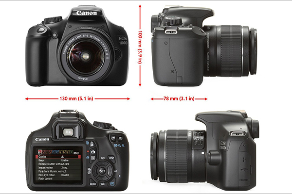Canon EOS 1100D KIT 18-55mm IS-4