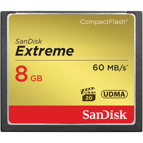 SanDisk CompactFlash Extreme 400x 8GB