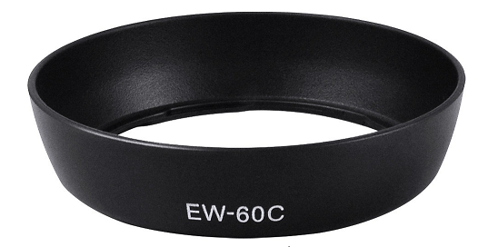 Lens hood For Canon EW-60c