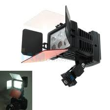 LED 5010A 6LED 15W 1050LX Super Light Digital LED Video