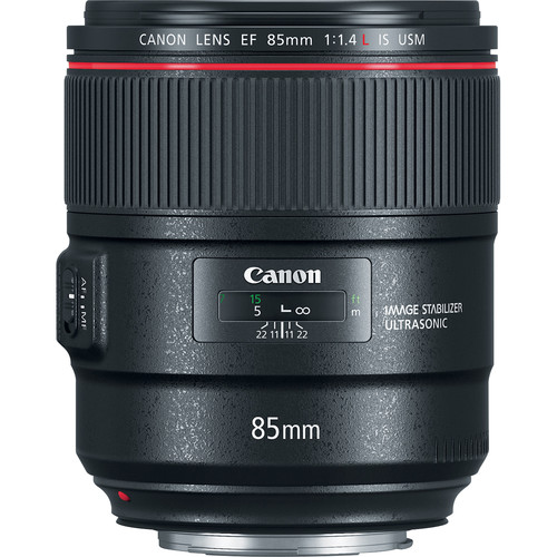 Canon lens 85mm f/1.4L IS USM
