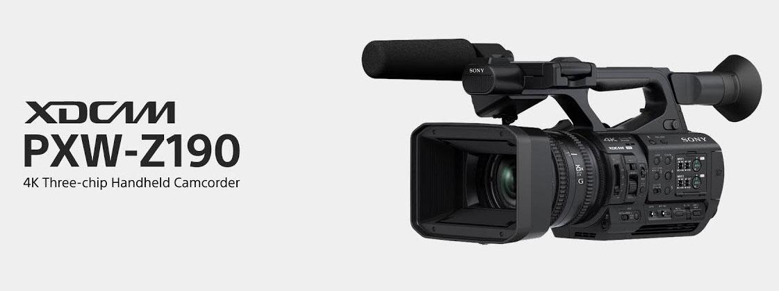 Máy quay chuyên dụng Sony PXW-Z190 4K
