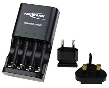 Bộ sạc pin Ansmann Powerline 4 Smart