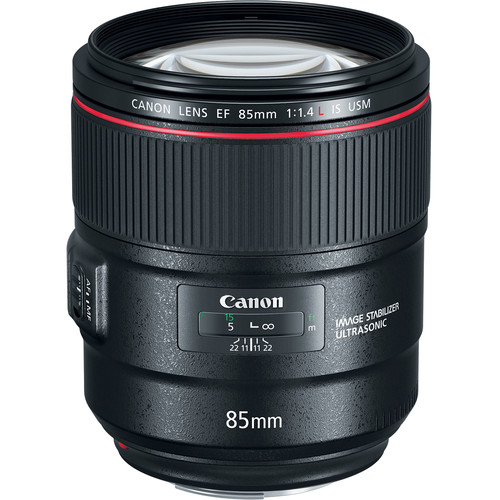 Canon lens 85mm f/1.4L IS USM (LBM)_2