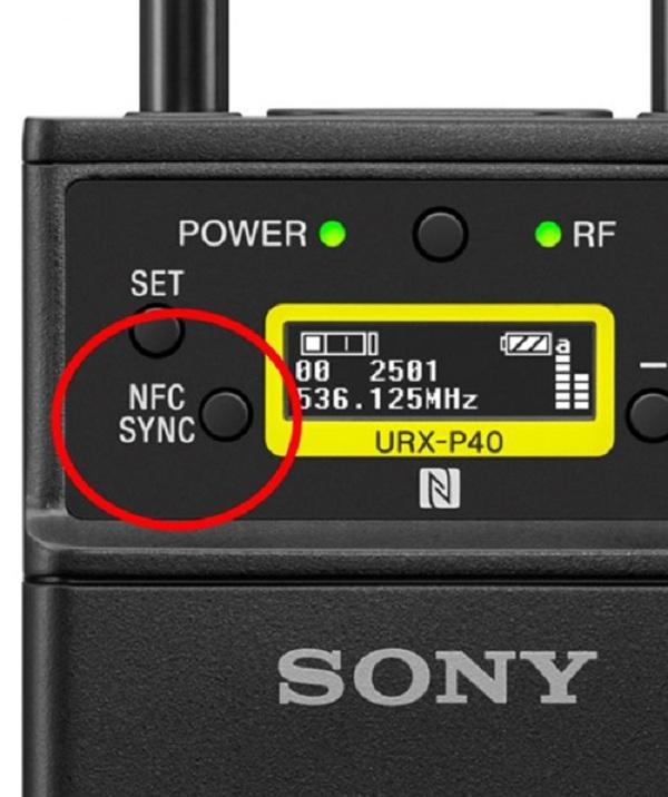 Micro không dây Sony UWP-D21