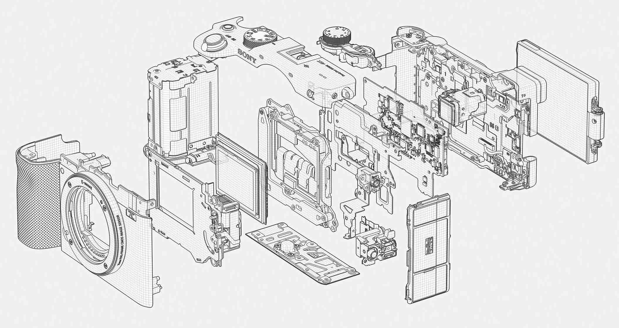 Sony A7C kit (ILCE-7CL/S)