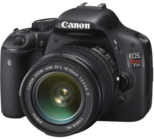 Canon EOS Rebel T2i kit 18-55 IS