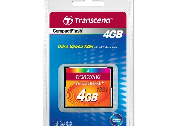 Compact flast  CF 4GB (133x) Kingston /Transcend