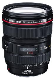 Canon lens EF24-105mm f/4L IS USM