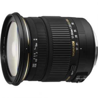 Sigma 17-50 f/2.8 EX DC HSM OS for Canon