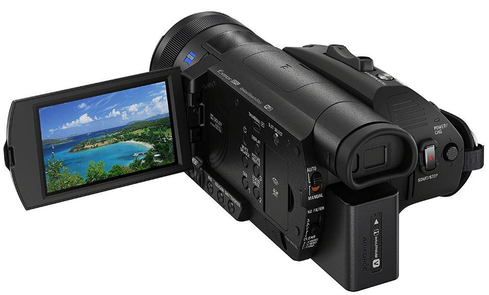 Máy quay phim Sony FDR-AX700 chính hãng