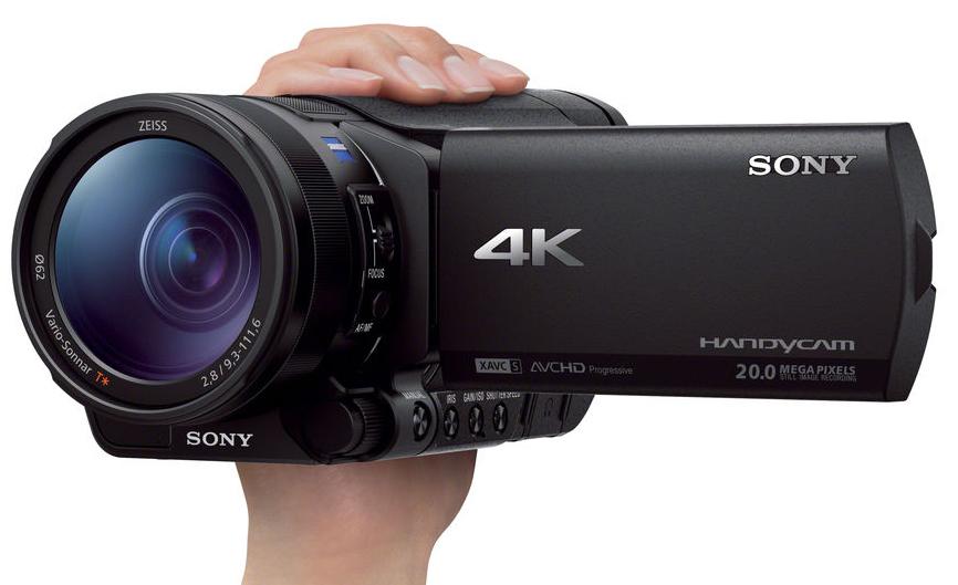 Máy quay phim Sony FDR-AX700