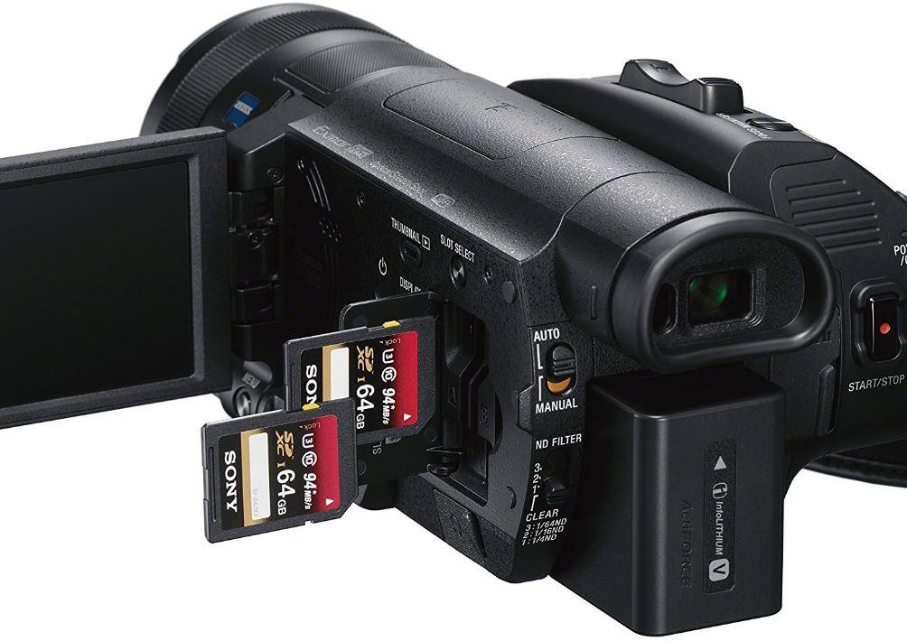 Máy quay Sony FDR-AX70