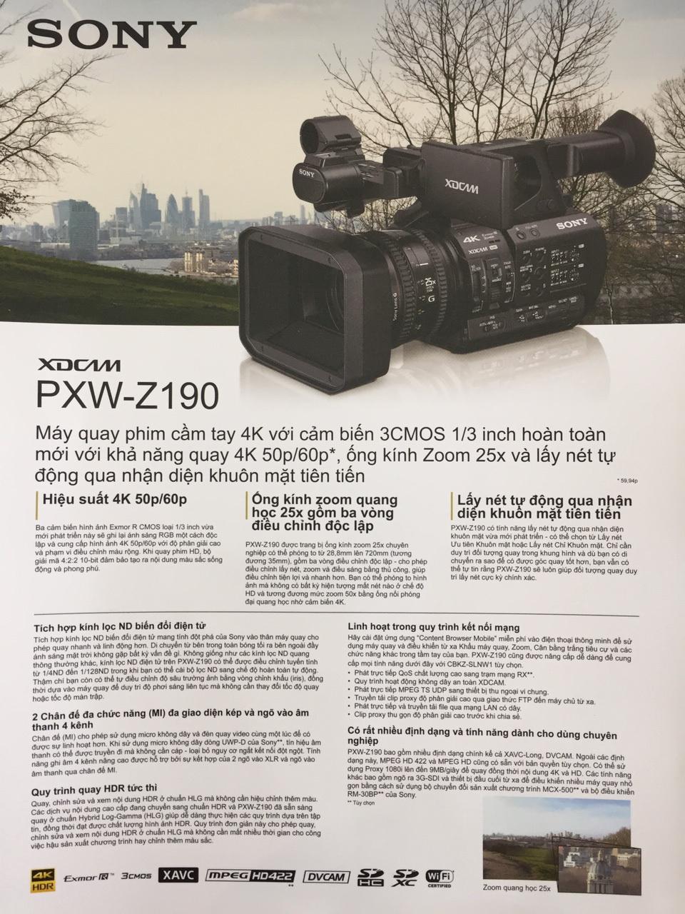 PXW Z190 4K