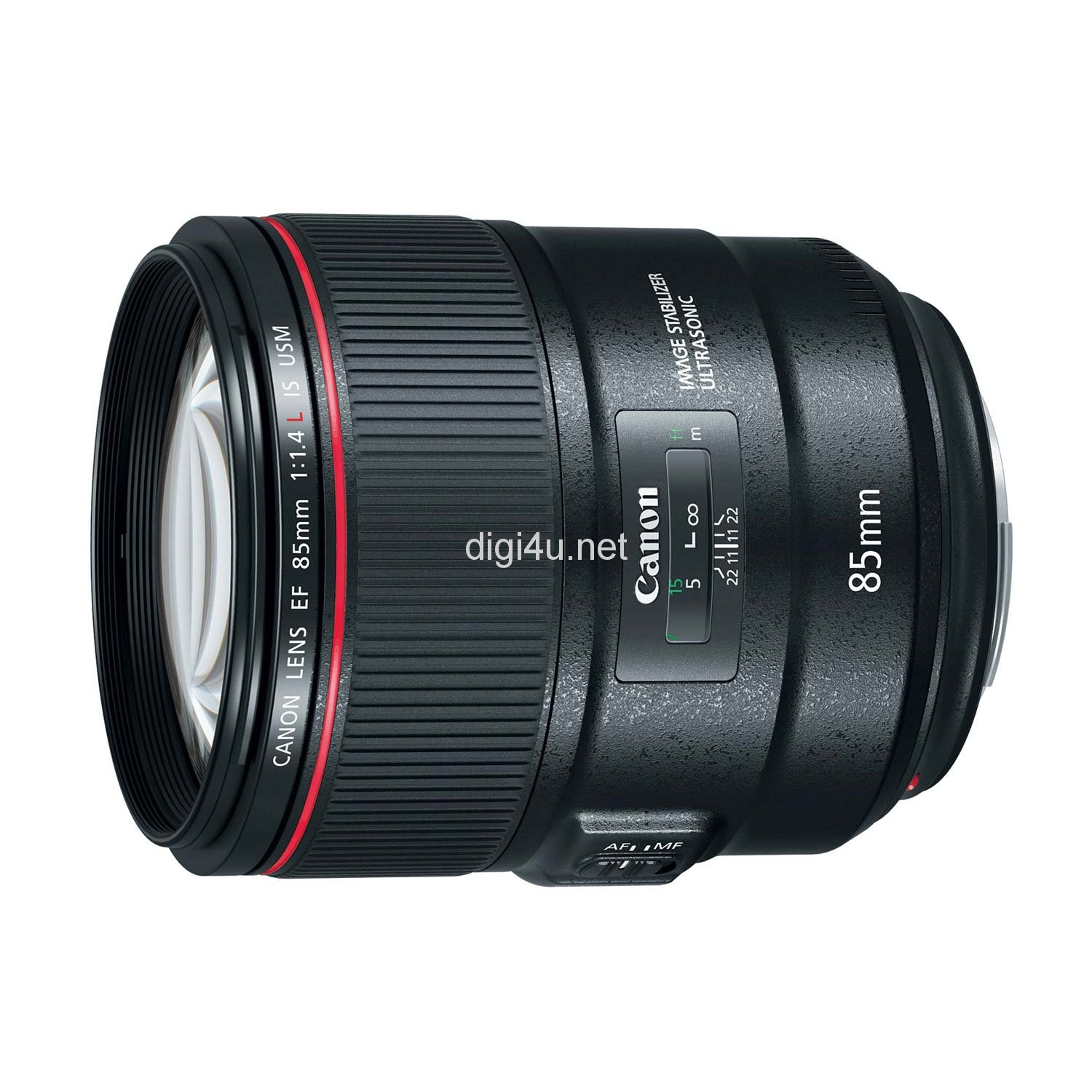 Canon lens 85mm f/1.4L IS USM (LBM)