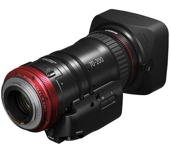 Lens Canon CN-E70-200mm T4.4 (EF)